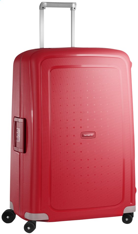 Afbeelding van Samsonite Harde reistrolley S'Cure Spinner crimson red from ColliShop