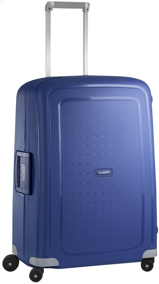 Afbeelding van Samsonite Harde reistrolley S'Cure Spinner dark blue 69 cm from ColliShop