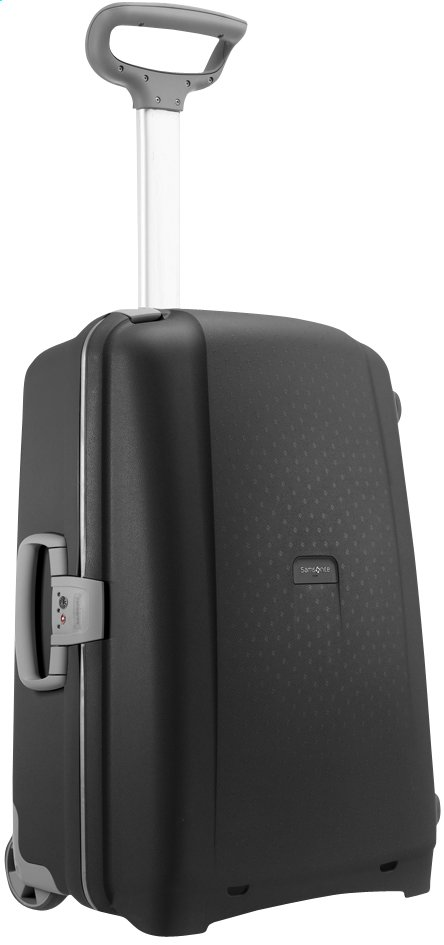 Image pour Samsonite Valise rigide Aeris Upright black 65 cm à partir de ColliShop