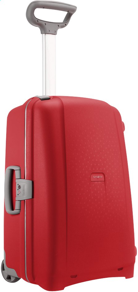 Image pour Samsonite Valise rigide Aeris Upright red 65 cm à partir de ColliShop