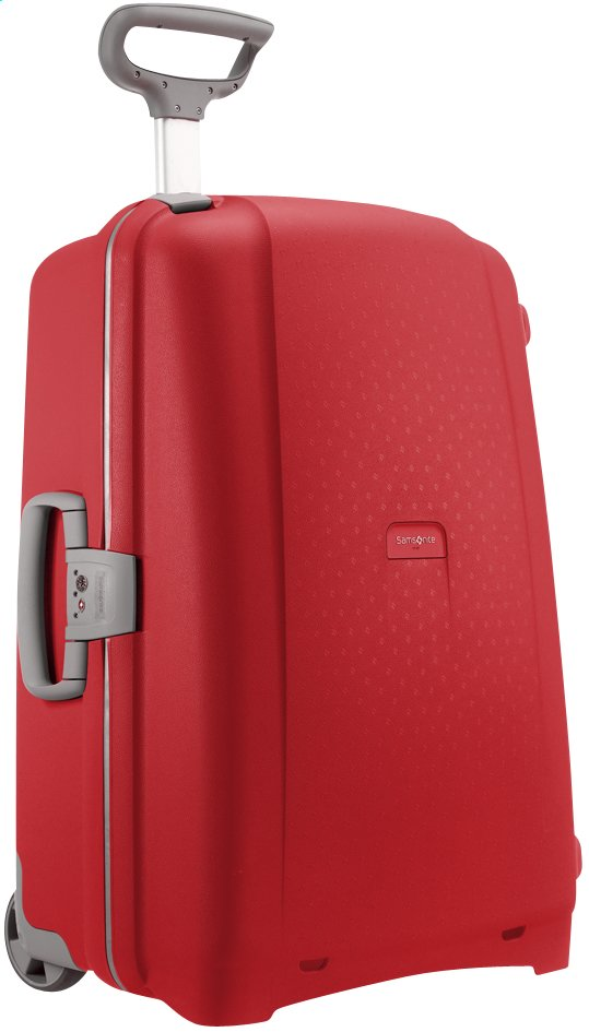 Afbeelding van Samsonite Harde reistrolley Aeris Upright red from ColliShop