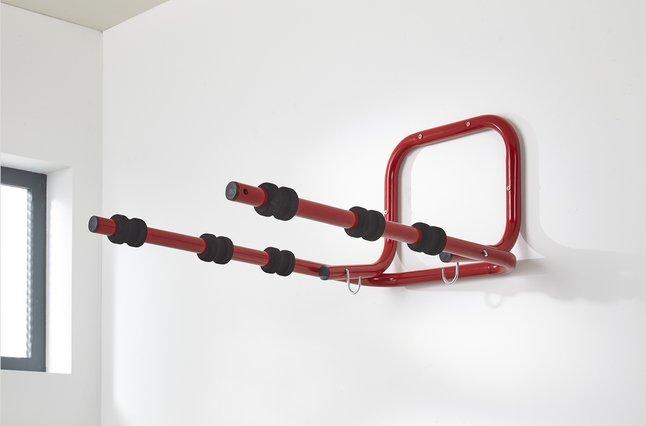 Image pour Mottez Range-vélos mural pour 3 vélos à partir de ColliShop