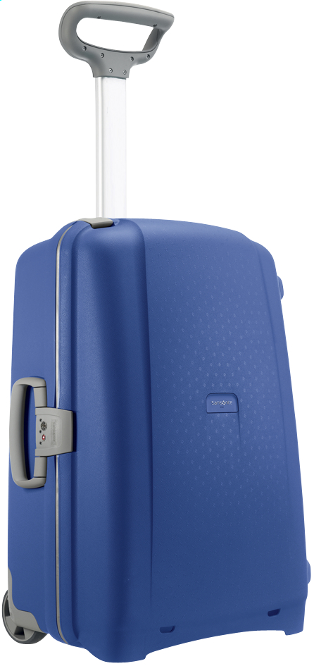 Afbeelding van Samsonite Harde reistrolley Aeris Upright vivid blue 65 cm from ColliShop