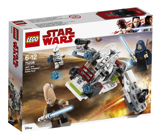 Afbeelding van LEGO Star Wars 75206 Jedi en Clone Troopers Battle pack from ColliShop