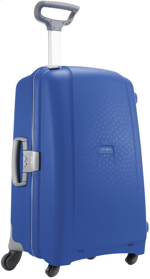 Afbeelding van Samsonite Harde reistrolley Aeris Spinner vivid blue 75 cm from ColliShop