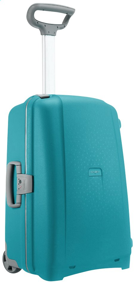 Afbeelding van Samsonite Harde reistrolley Aeris Upright cielo blue 65 cm from ColliShop