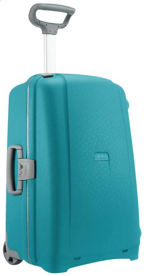 Afbeelding van Samsonite Harde reistrolley Aeris Upright cielo blue 71 cm from ColliShop