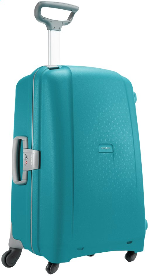 Afbeelding van Samsonite Harde reistrolley Aeris Spinner cielo blue 75 cm from ColliShop