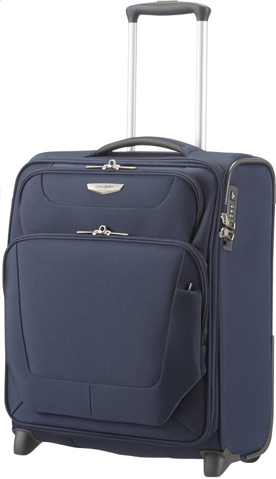 Afbeelding van Samsonite Zachte reistrolley Spark Upright dark blue 50 cm from ColliShop