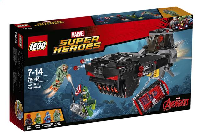 Image pour LEGO Super Heroes 76048 L'attaque en sous-marin d'Iron Skull à partir de ColliShop
