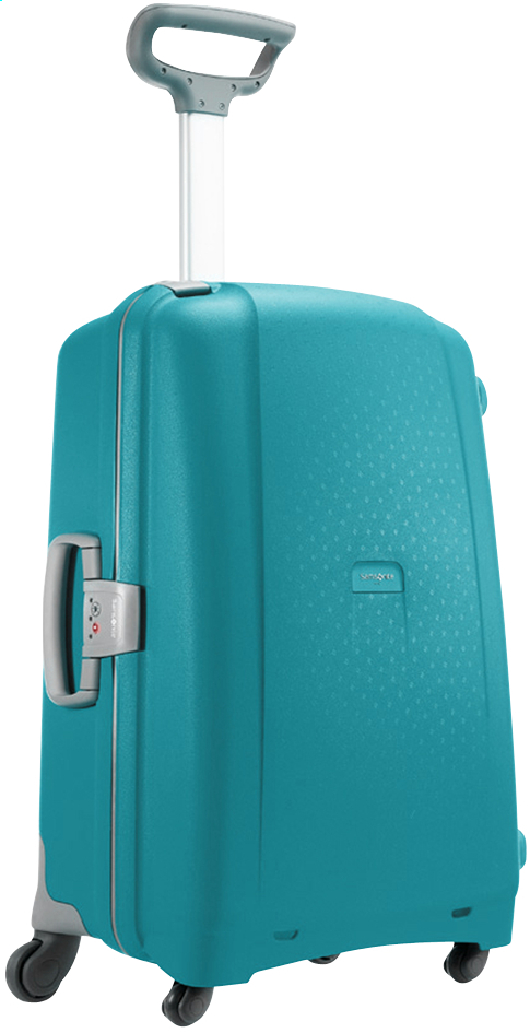 Afbeelding van Samsonite Harde reistrolley Aeris Spinner cielo blue 68 cm from ColliShop