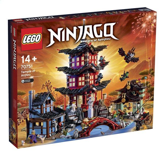 Afbeelding van LEGO Ninjago 70751 Tempel van Airjitzu from ColliShop