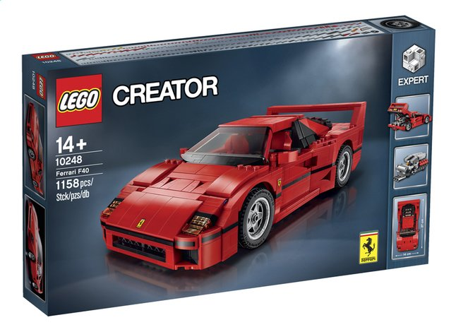 Image pour LEGO Creator 10248 La Ferrari F40 à partir de ColliShop