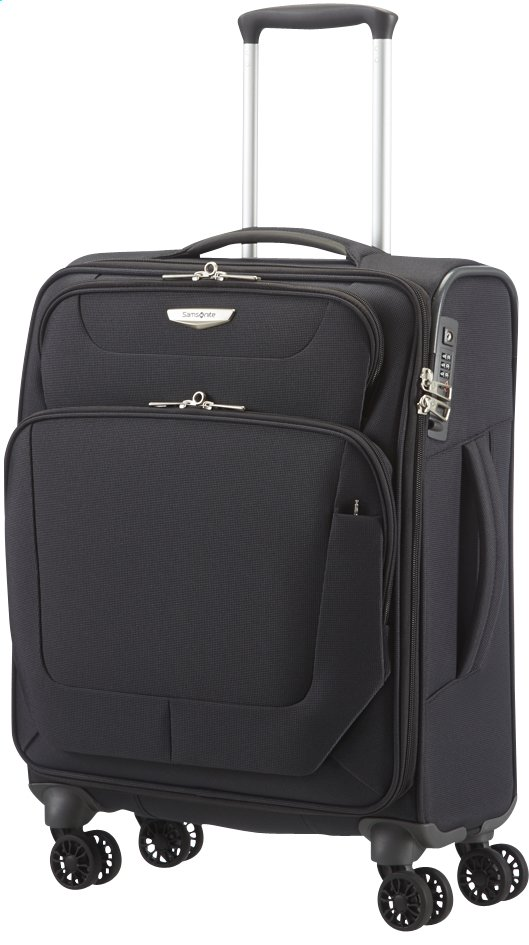 Afbeelding van Samsonite Zachte reistrolley Spark Spinner black from ColliShop