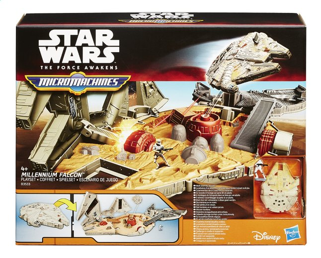 Afbeelding van Set Star Wars Micromachines Millennium Falcon from ColliShop