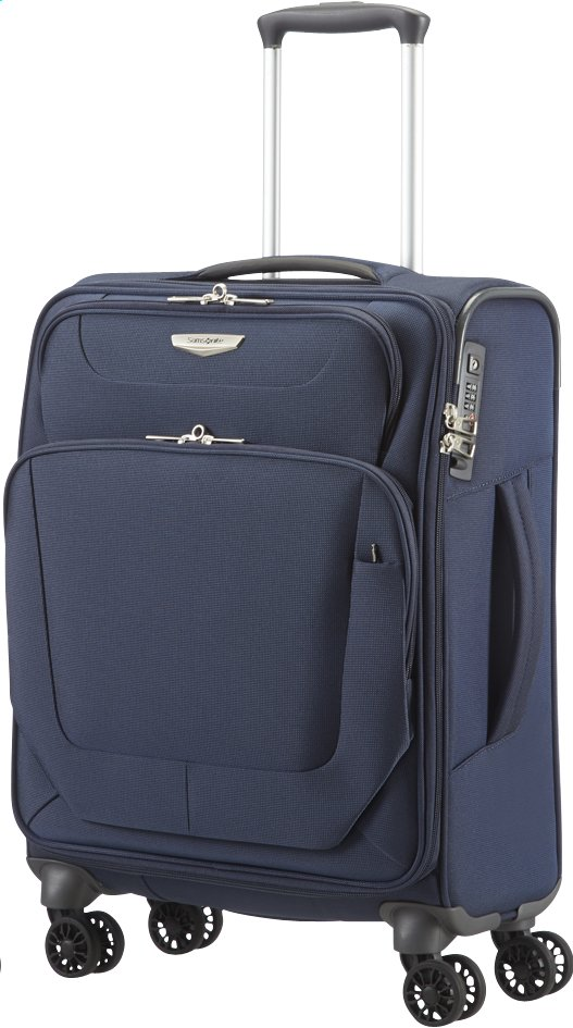 Image pour Samsonite Valise souple Spark Spinner dark blue 55 cm à partir de ColliShop