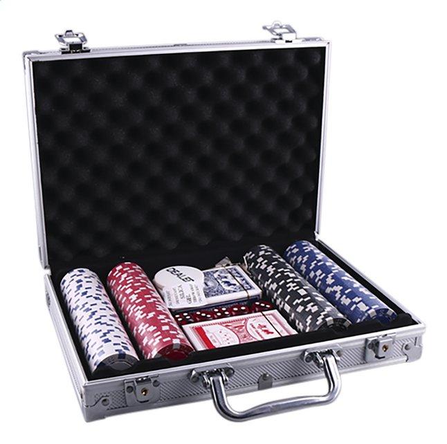 Image pour Jeu de poker avec 200 jetons à partir de ColliShop