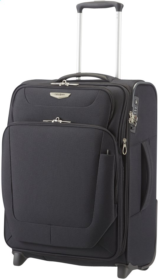 Image pour Samsonite Valise souple Spark Upright EXP black 55 cm à partir de ColliShop
